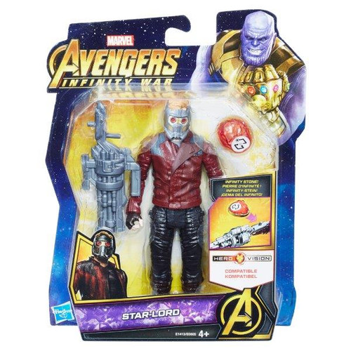 AVENGERS 6 INCH - STAR LORD WITH STONE