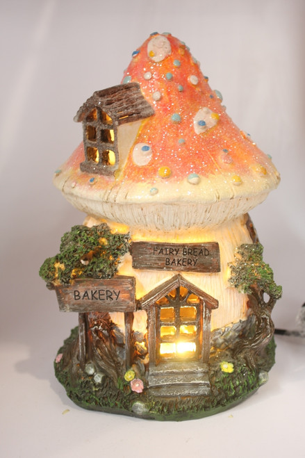 FAIRY HOUSE NIGHT LIGHT - BAKERY