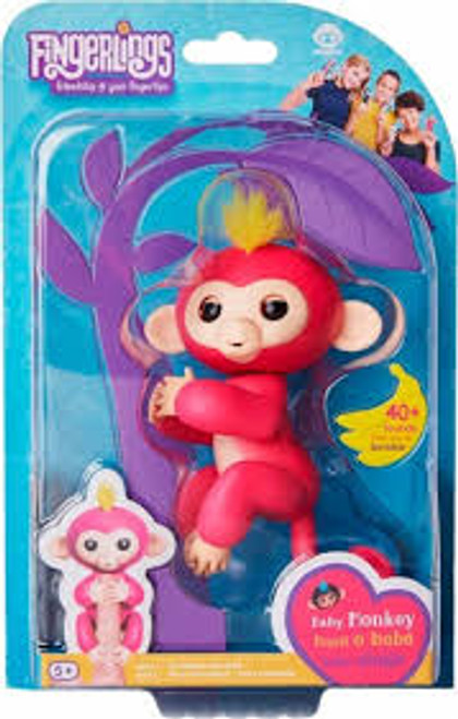 FINGERLINGS BABY MONKEY - BELLA