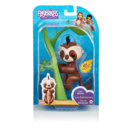 FINGERLINGS SLOTH - KINGSLEY