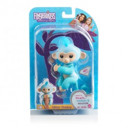 FINGERLINGS GLITTER MONKEY - AMELIA