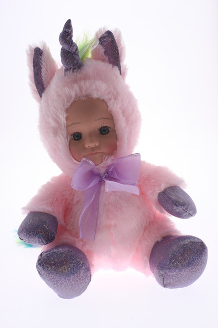 FUR BABY - GLITTER PINK UNICORN
