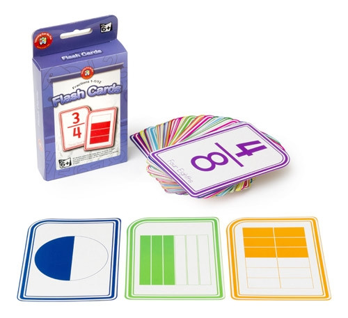 FLASHCARDS - FRACTIONS