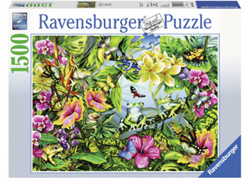RAVENSBURGER - FIND THE FROGS PUZZLE 1500 PCE