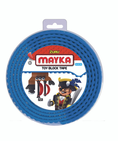 ZURU MAYKA TAPE 2 STUD 2M ROLL - DARK BLUE