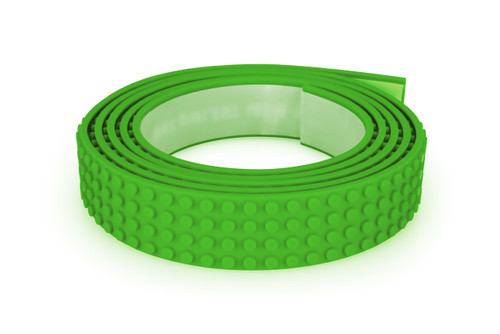 ZURU MAYKA TAPE 4 STUD 2M ROLL - GREEN