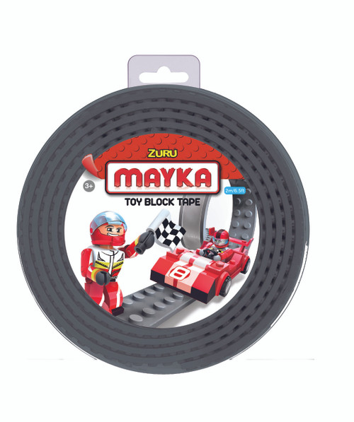 ZURU MAYKA TAPE 4 STUD 2M ROLL - GREY