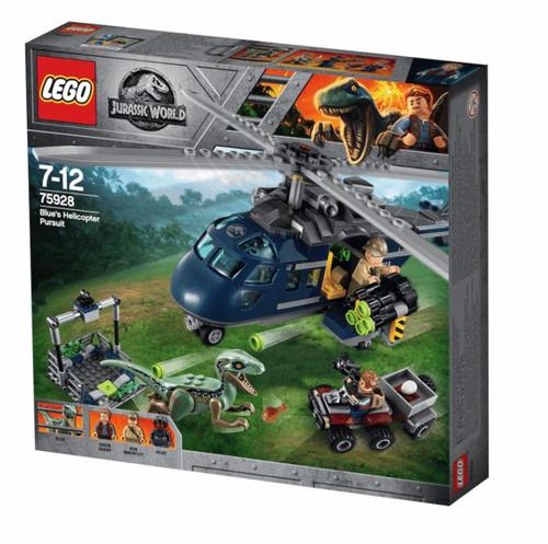 LEGO JURASSIC WORLD - BLUES HELICOPTER PURSUIT