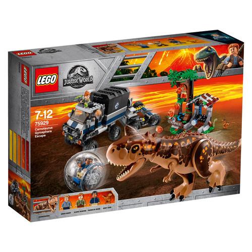LEGO JURASSIC WORLD - CARNOTAURUSGYROSPHERE ESCAPE