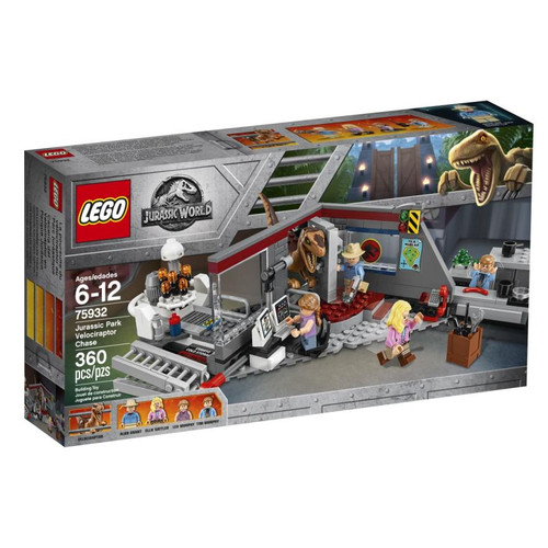 LEGO JURASSIC WORLD - JURASSIC PARK VELOCIRAPTOR CHASE