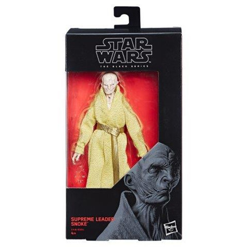 SW E7 BLACK SERIES 6 INCH FIGURE - SUPREME LEADER SNOKE