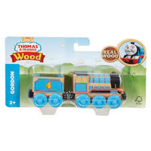 THOMAS & FRIENDS WOOD ENGINE - GORDON