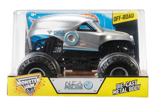 MONSTER JAM 1:24 SCALE N.E.A. POLICE