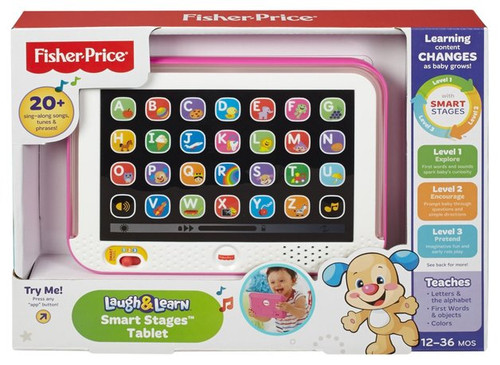 FP SMART STAGES TABLET - PINK OUTER
