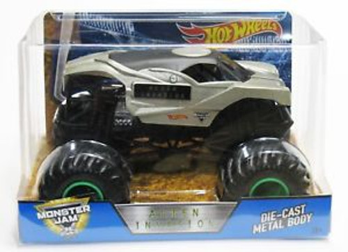 MONSTER JAM 1:24 SCALE ALIEN INVASION