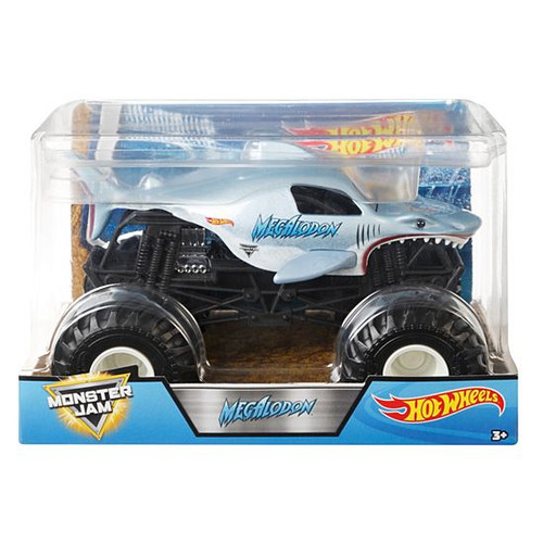 MONSTER JAM 1:24 SCALE MEGALODON