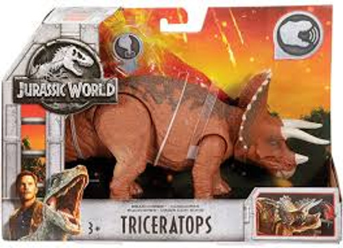 JURASSIC WORLD SOUND DINO - TRICERATOPS
