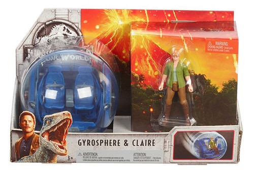 JURASSIC WORLD STORY PACK - GYROSPHERE & CLAIRE