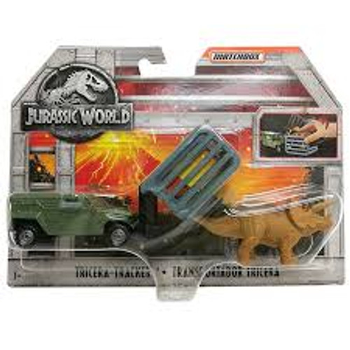 JURASSIC WORLD DINO TRANSPORTER - TRICERA TRACKER