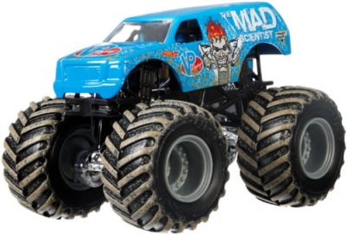 HOT WHEELS MONSTER JAM 1:64 - THE MAD SCIENTIST
