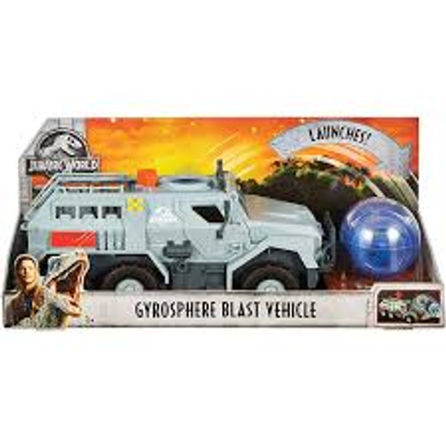 JURASSIC WORLD HERO VEHICLE - GYROSPHERE BLAST VEHICLE
