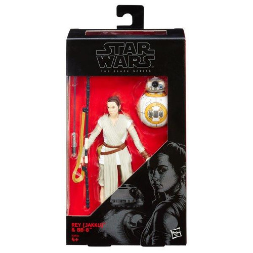 SW BLACK SERIES 6 INCH FIGURE - REY (JAKKU) & BB-8 #02