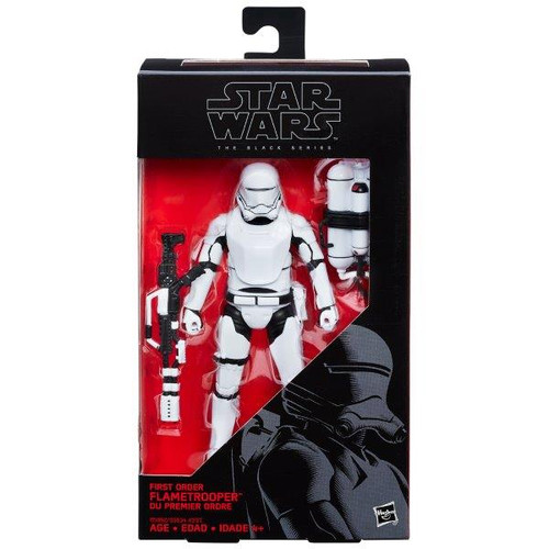 SW E7 BLACK SERIES 6 INCH FIG - FIRST ORDER FLAMETROOPER #16