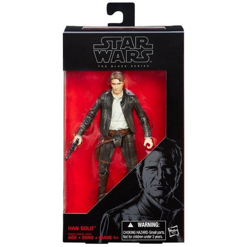 SW E7 BLACK SERIES 6 INCH FIGURE - HAN SOLO # 18