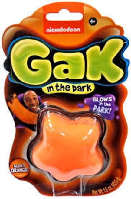 MINI GAK GLOW IN THE DARK - ORANGE