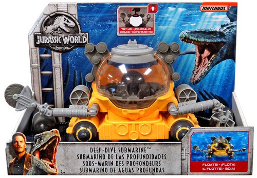 JURASSIC WORLD VEHICLE - DEEP-DIVE SUBMARINE
