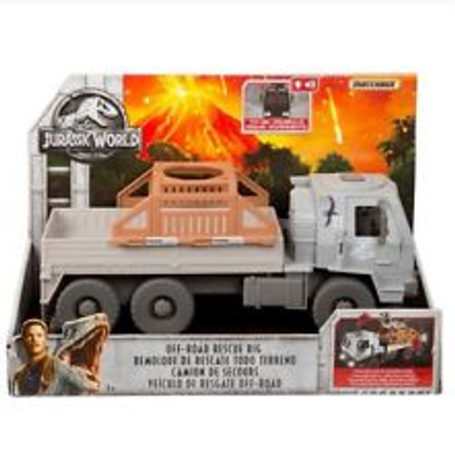 JURASSIC WORLD VEHICLE - OFF ROAD RESCUE RIG