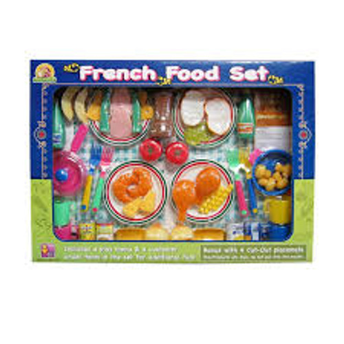 FRENCH FOOD PLAYSET