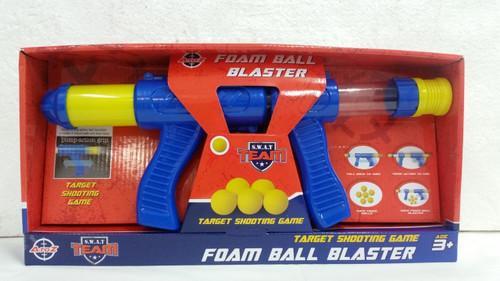 FOAM BALL BLASTER WITH 5 BALLS