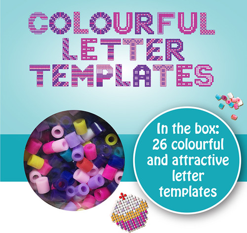 NAME BEADS - 26 LETTER TEMPLATES