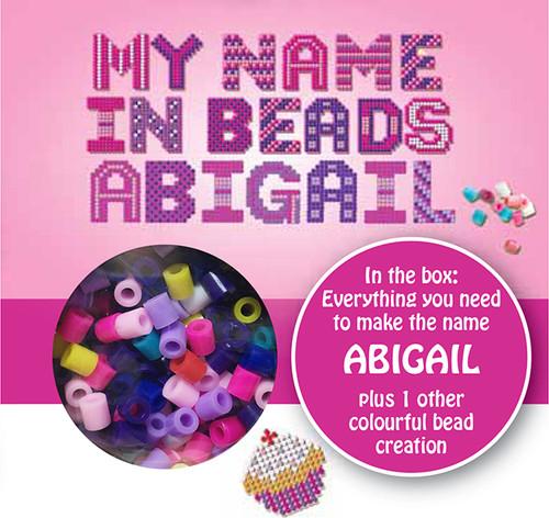 NAME BEADS - ABIGAIL