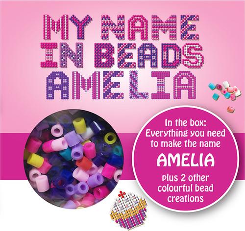 NAME BEADS - AMELIA