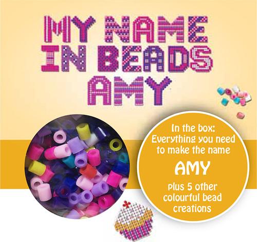 NAME BEADS - AMY