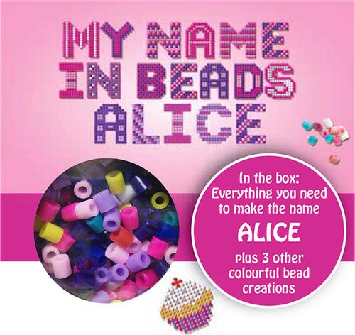 NAME BEADS - ALICE