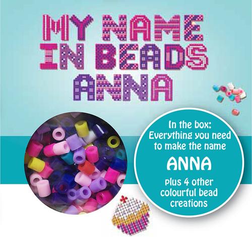 NAME BEADS - ANNA