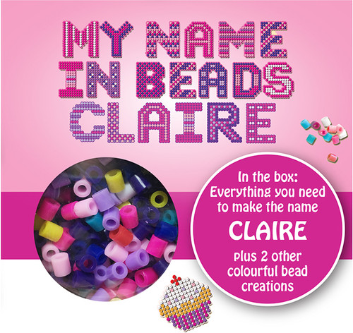 NAME BEADS - CLAIRE