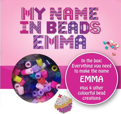 NAME BEADS - EMMA