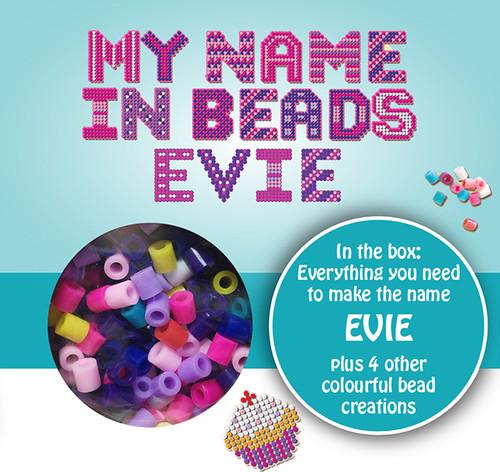 NAME BEADS - EVIE