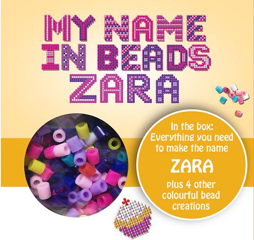NAME BEADS - ZARA