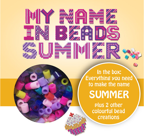 NAME BEADS - SUMMER