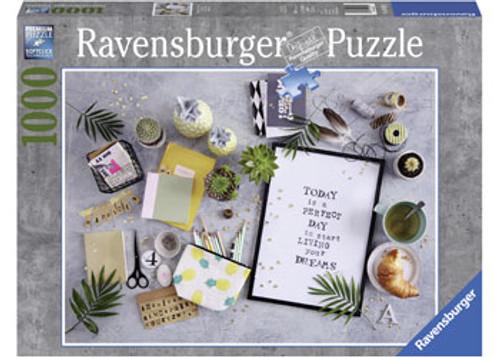 RAVENSBURGER - START LIVING YOUR DREAM PUZZLE 1000 PCE