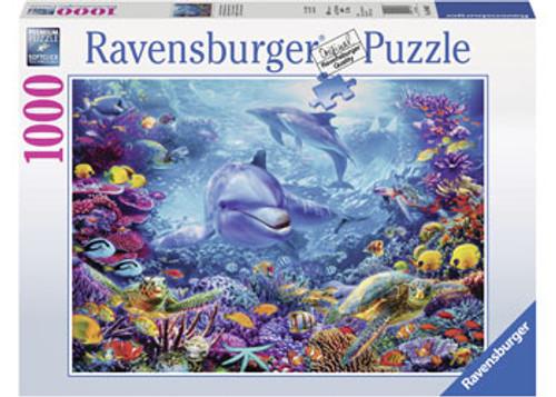 RAVENSBURGER - MAGNIFICENT UNDERWATER WORLD PUZZLE 1000 PCE