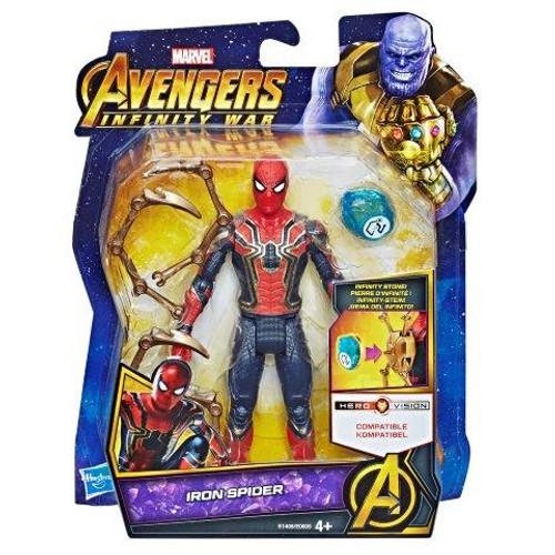 AVENGERS 6 INCH - IRON SPIDER WITH STONE