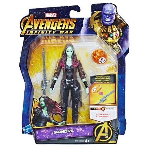 AVENGERS 6 INCH - GAMORA WITH STONE