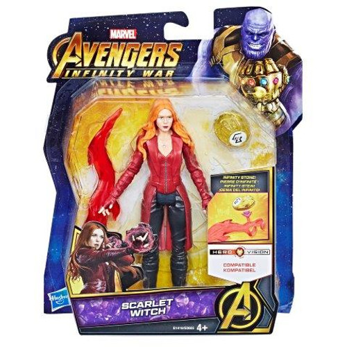 AVENGERS 6 INCH - SCARLETT WITCH WITH STONE