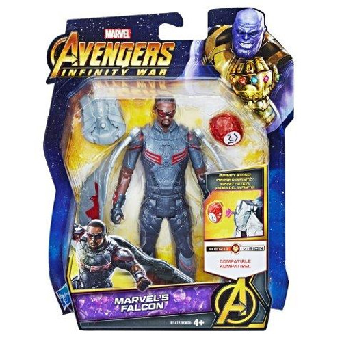 AVENGERS 6 INCH - MARVELS FALCON WITH STONE